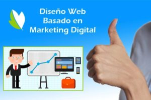 Diseño de páginas web enfocado al Marketing Digital