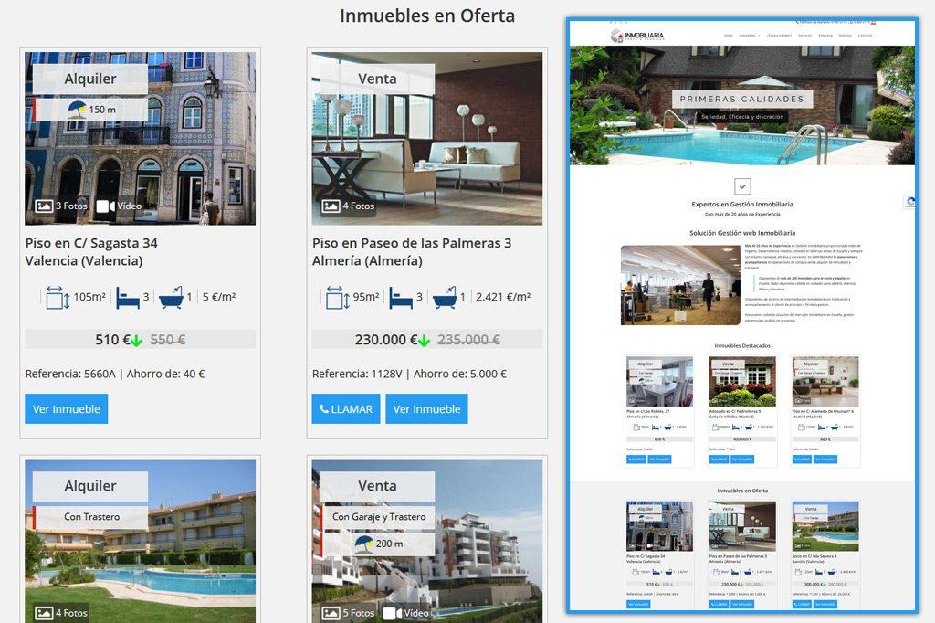 Diseño Web para Gestión Inmobiliaria